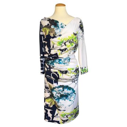Talbot Runhof Dress with pattern