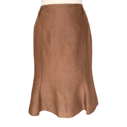 Windsor Pleated skirt with a silk content