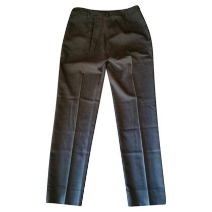 Max Mara Pantalone in lana grigio