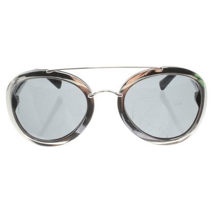 Valentino Silver colored sunglasses