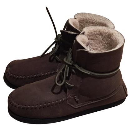 Isabel Marant Lammfell-Boots