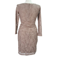Reiss Lace dress in pink