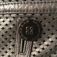 Burberry Giacca in pelle nera