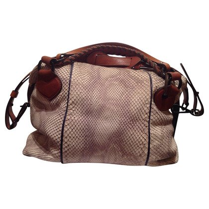 Pauric Sweeney  borsa in pelle di serpente