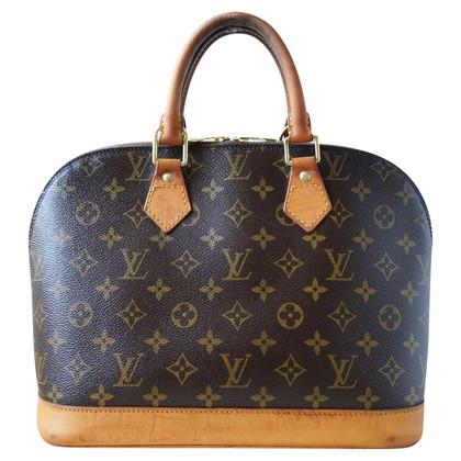 "Louis Vuitton ""Alma MM Monogram Canvas"""