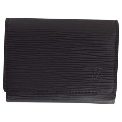 Louis Vuitton Card case made of epileather