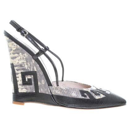 Miu Miu Sandaletten mit Keilabsatz