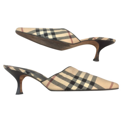 Burberry Mules with check pattern