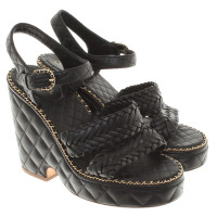 Chanel Wedges in black