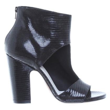 Maison Martin Margiela Sandals with reptile optics