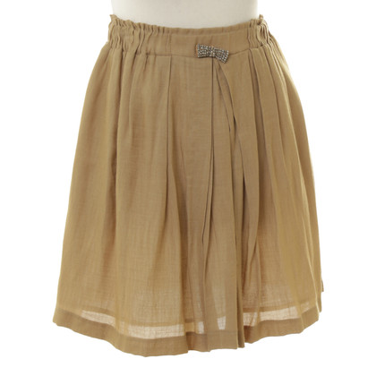 Sandro skirt in ochre