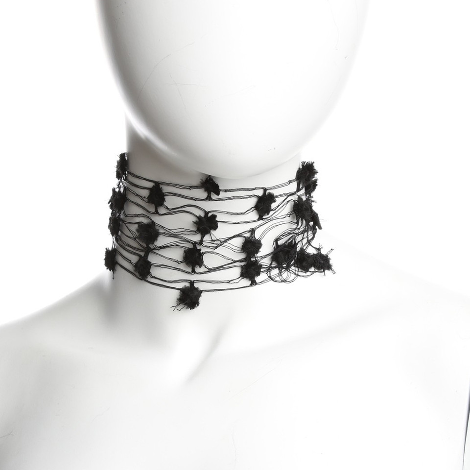 Prada Top choker in black