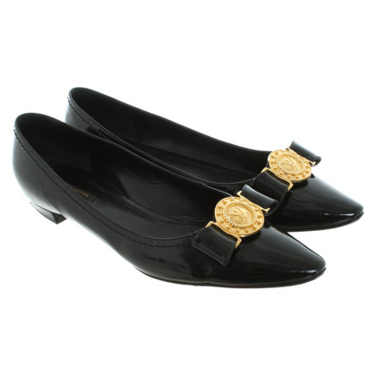 Louis Vuitton Ballerinas in black