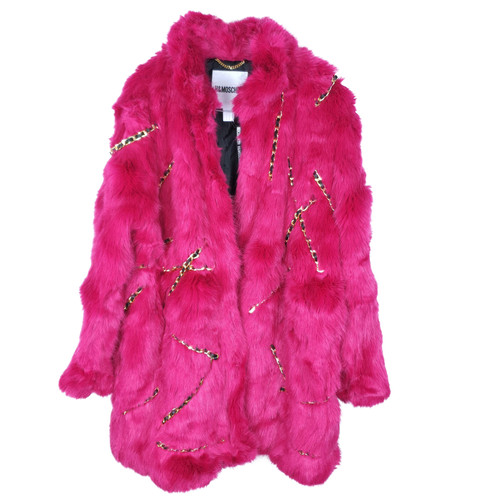 Pink In Second Moschino Hand Jackemantel Rosa l5uJFTK1c3