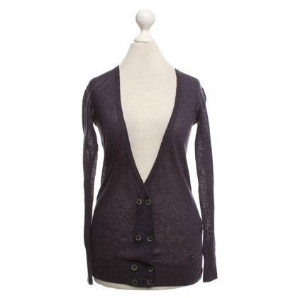 Thomas Burberry Cardigan in Violett