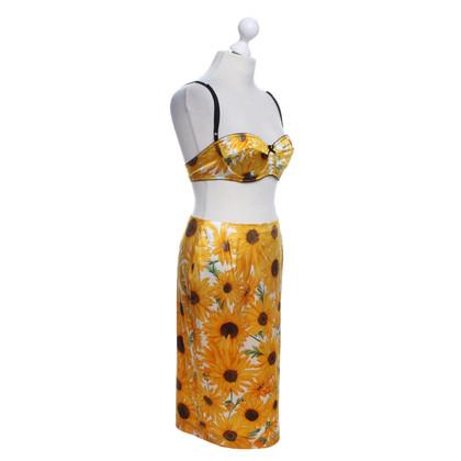 Dolce & Gabbana Twin set met bloemmotief