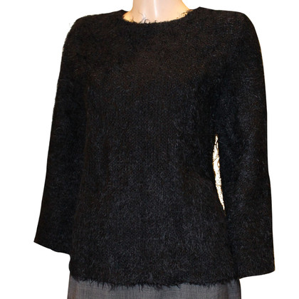 Céline Sweater with mink hair