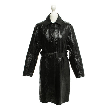 Lanvin Coat with patent leather look