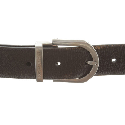 Giorgio Armani Belt in dark brown