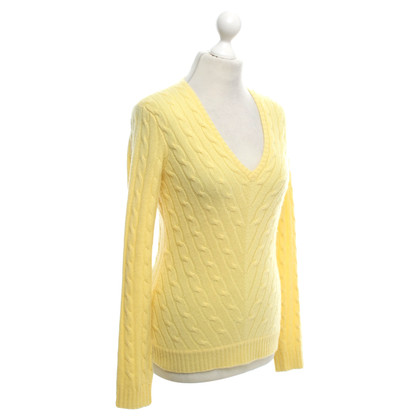 Ralph Lauren Black Label Sweater in lemon yellow