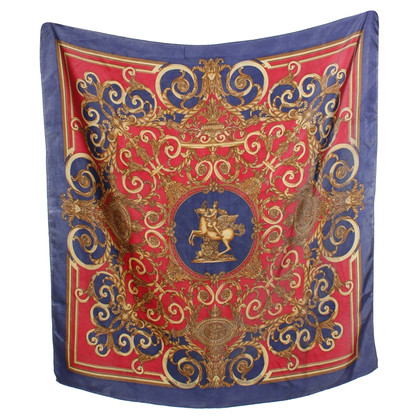 Hermès Silk scarf with motif