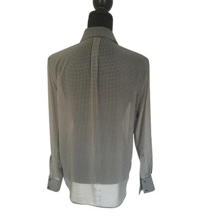 Ralph Lauren Bluse in Schwarz/Weiß