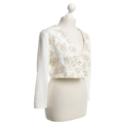 Guido Maria Kretschmer Short jacket in cream