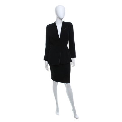 Mugler Classic costume in black