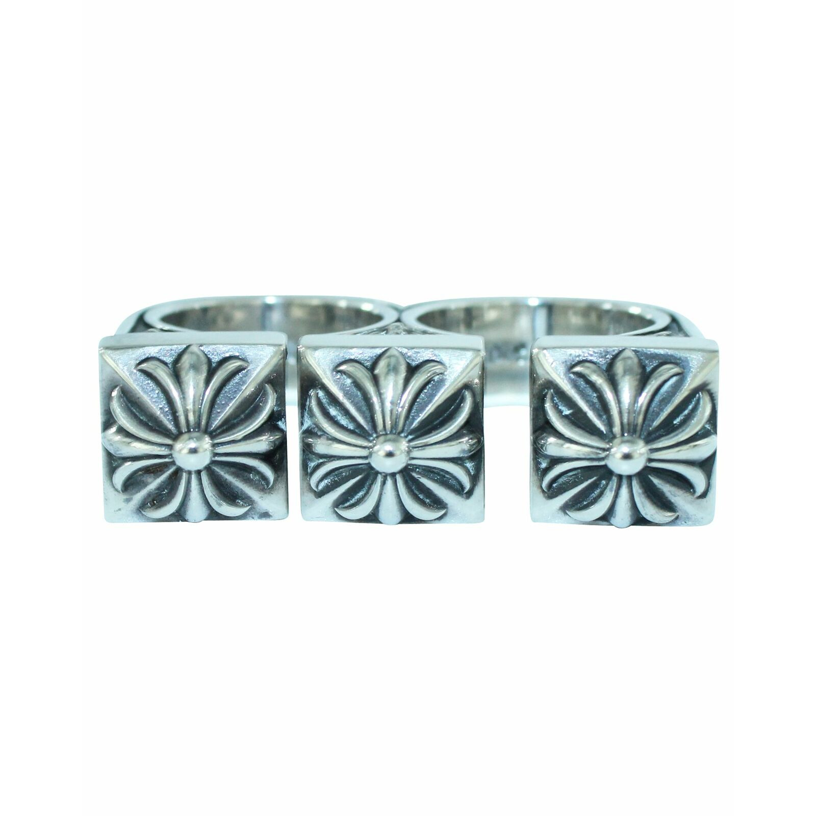 Chrome Hearts Ring Silver in Silvery   Second Hand Chrome Hearts ...