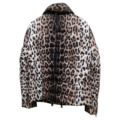 Moschino Cheap and Chic Quilted Jacket with Leopard pattern