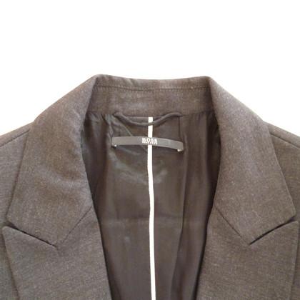 Hugo Boss gray blazer