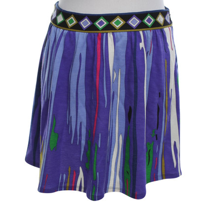 Emilio Pucci Mini-skirt in Multicolor