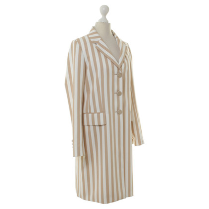 Marc Jacobs Coat the strips look