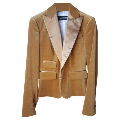 Dsquared2 Jacket in wool / silk