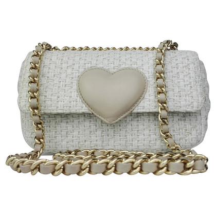 Moschino Cheap and Chic Handbag made of raffia