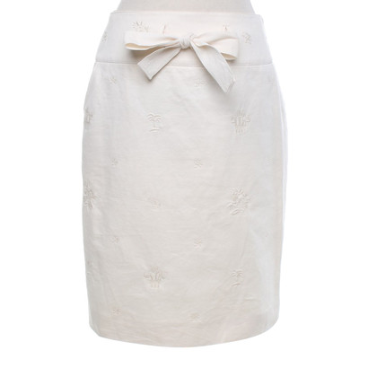 Chloé skirt with embroidery