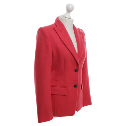René Lezard Lana giacca sportiva in rosso