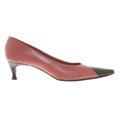 Sergio Rossi pumps in blush pink / Brown