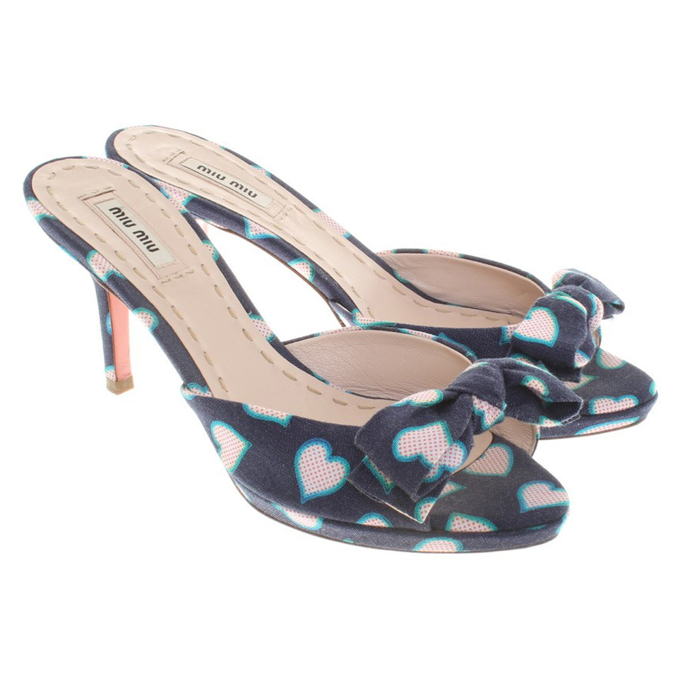 Miu Miu Sandals with pattern