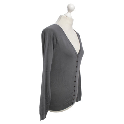 Hoss Intropia Cardigan in anthracite