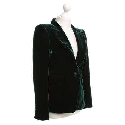 Smythe giacca di velluto verde