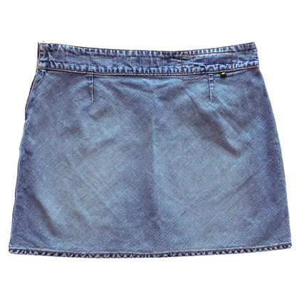 DKNY Denim mini skirt