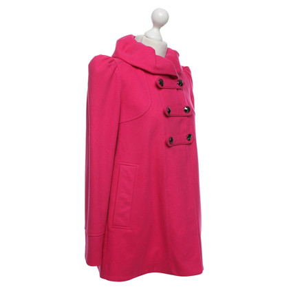 French Connection Coat in pink