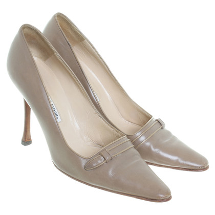 Manolo Blahnik Pumps in Braun