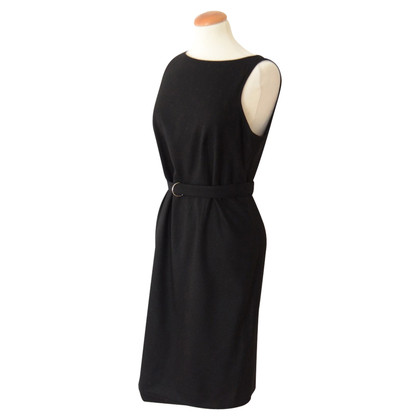 Burberry Black dress with belt