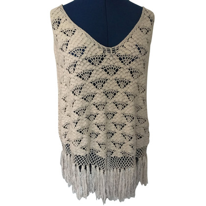 Day Birger & Mikkelsen Crochet poncho with lurex threads