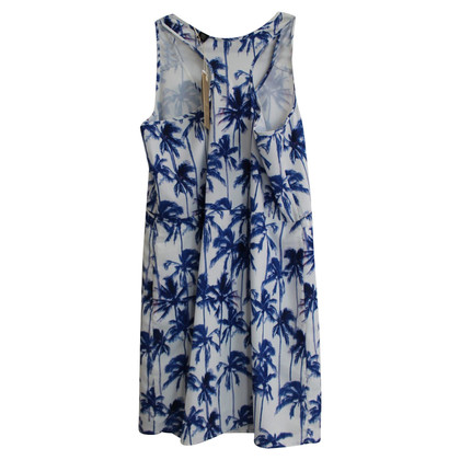 Maison Scotch Noix De Coco Palm Tree Dress