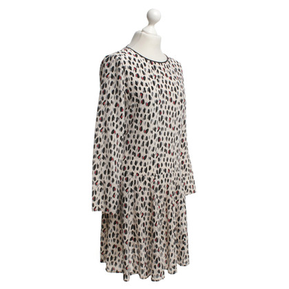 Stefanel Silk dress with animal print