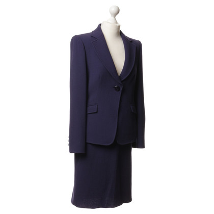 Armani Collezioni Kostüm in Violett