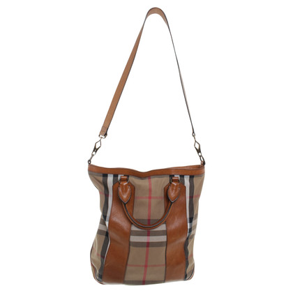 Burberry Tote Bag mit Muster